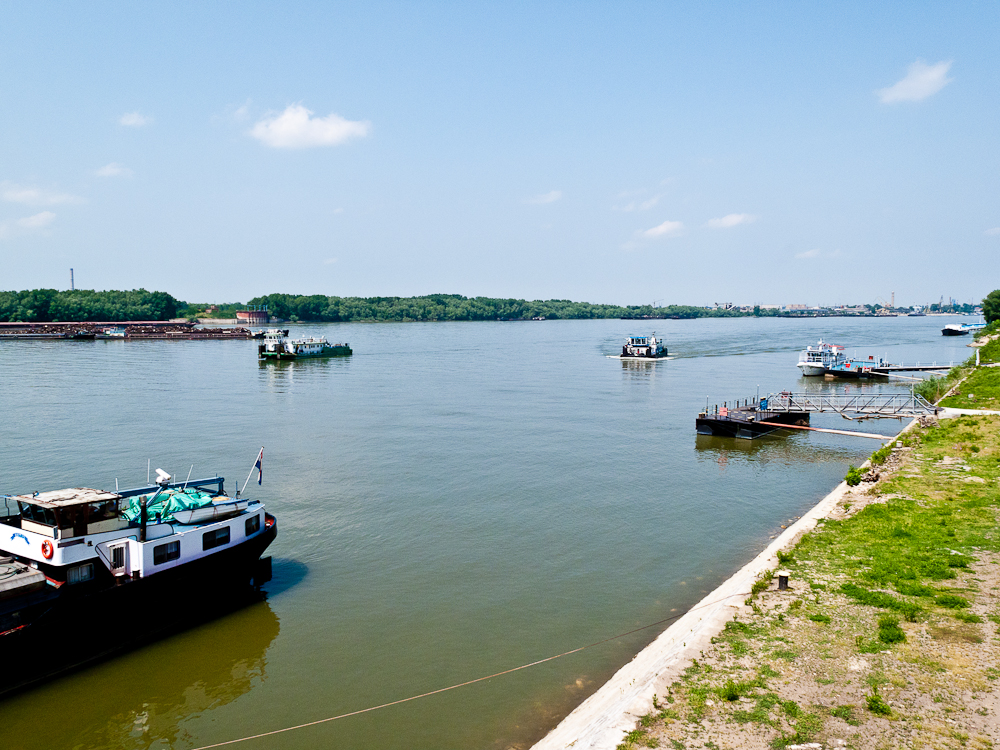 Donau-Ufer in Rousse