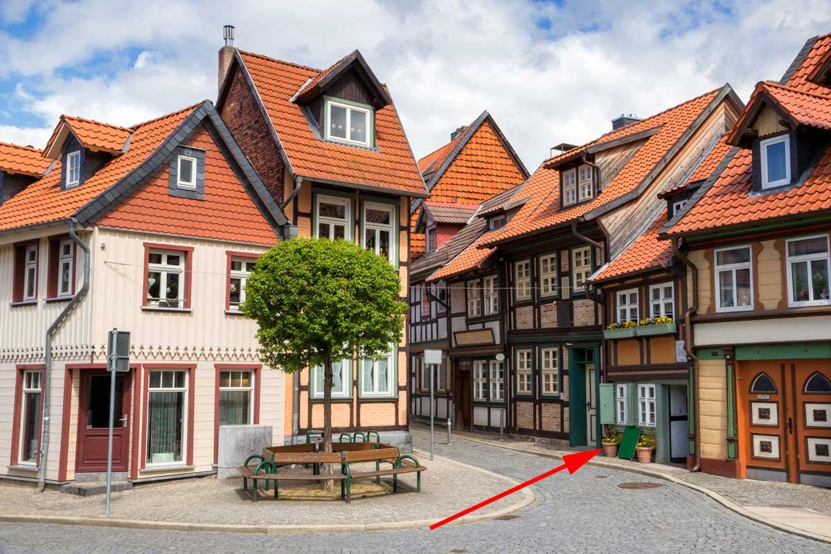Das kleinste Haus in Wernigerode