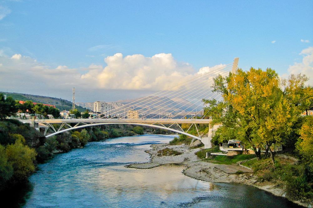 Millenium Bridge in Podgorica