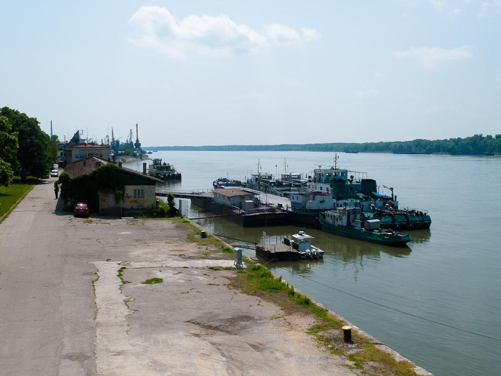Hafenanlagen in Rousse