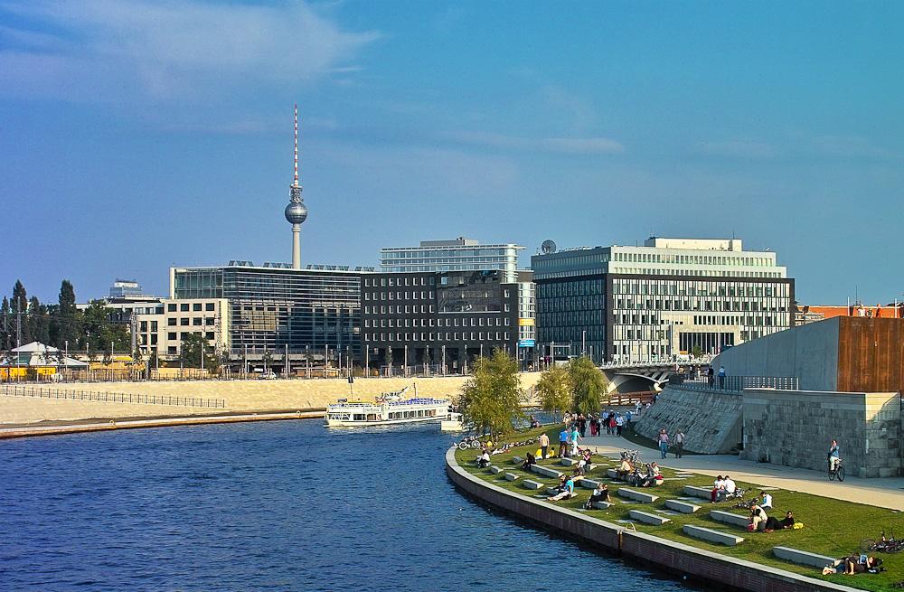 Spreebogen, Berlin
