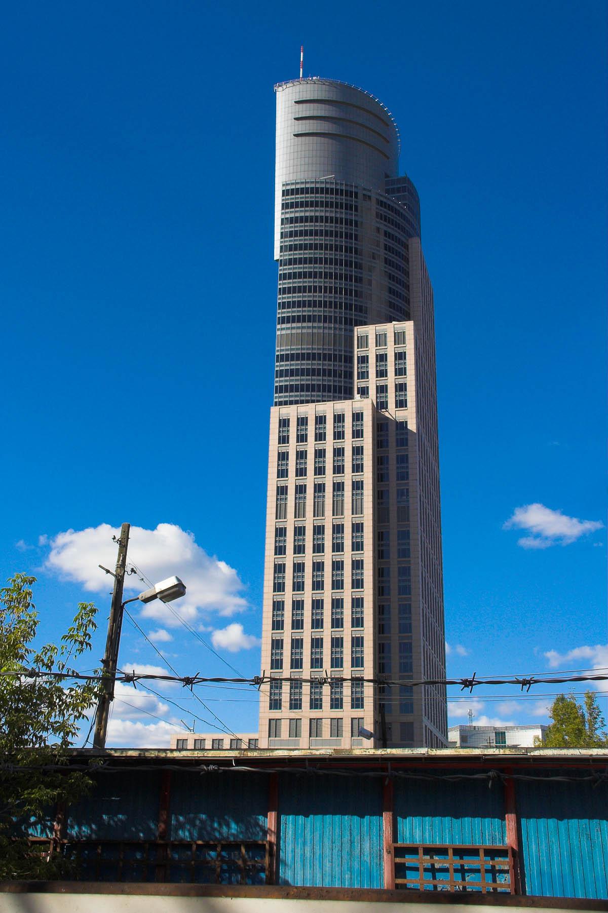 Warsaw Trade Tower in Warschau