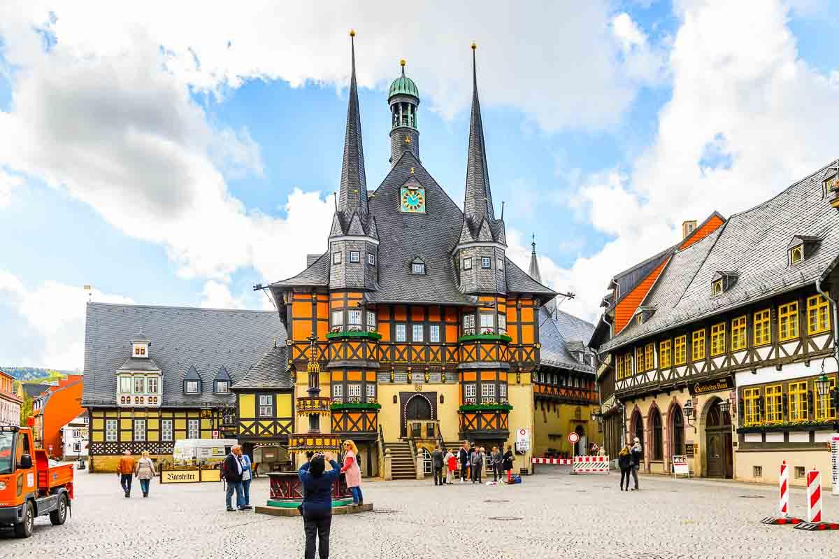 Der Wernigeröder Rathaus