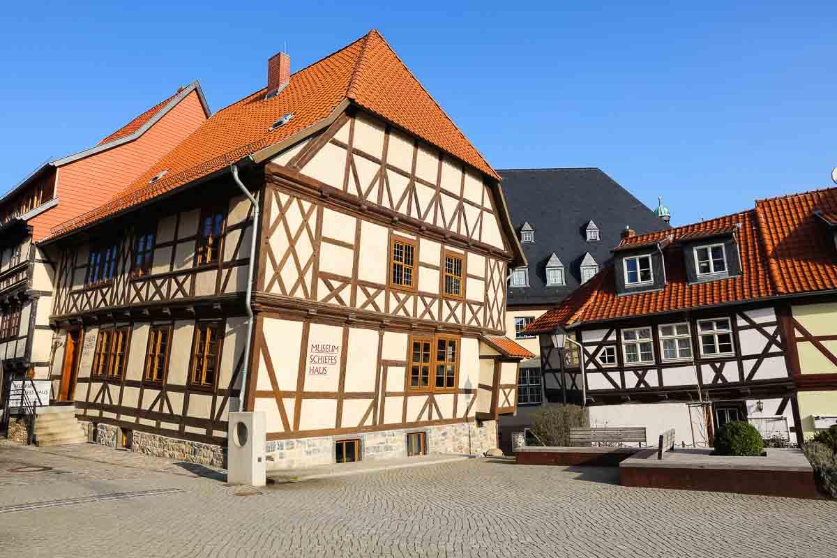 Schiefes Haus in Wernigerode