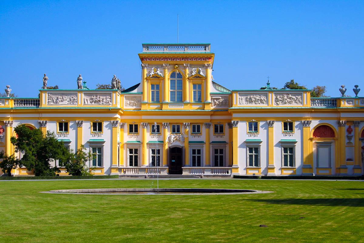 Wilanow Palast in Warschau