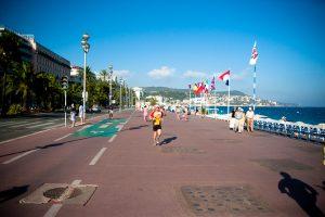 Strandpromenade in Nizza
