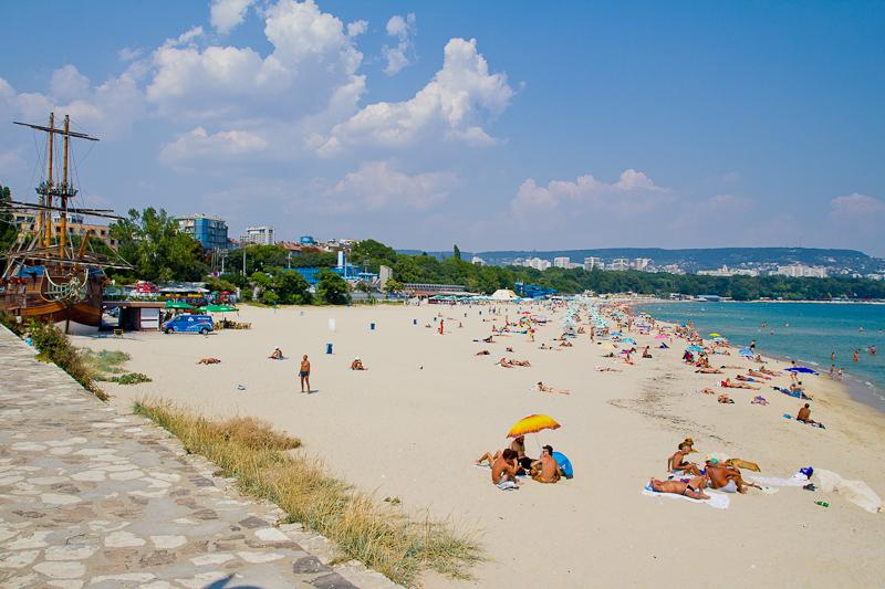 Varna, Strand am Schwarzen Meer