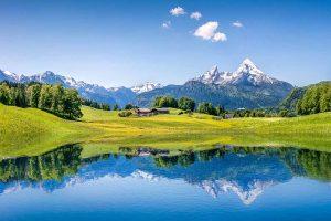 Die bayrischen Alpen