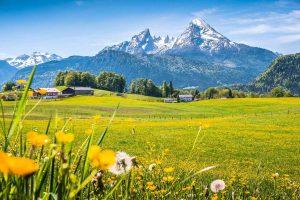 Nationalpark Berchtesgadener Land in Bayern