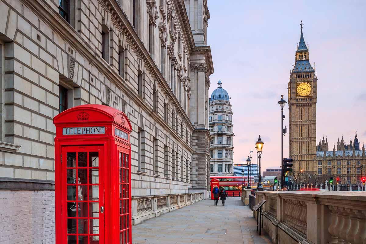 Big Ben und Houses of Parliament in London