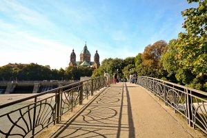 Brücke über die Isar in München