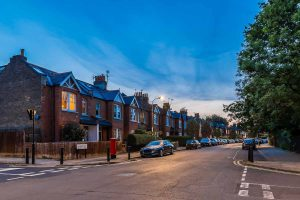 Stadtteil Chiswick in London