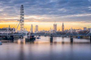 Embakment Bridge in London
