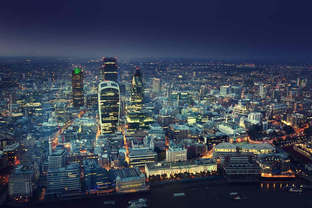 London City Nachtaufnahme