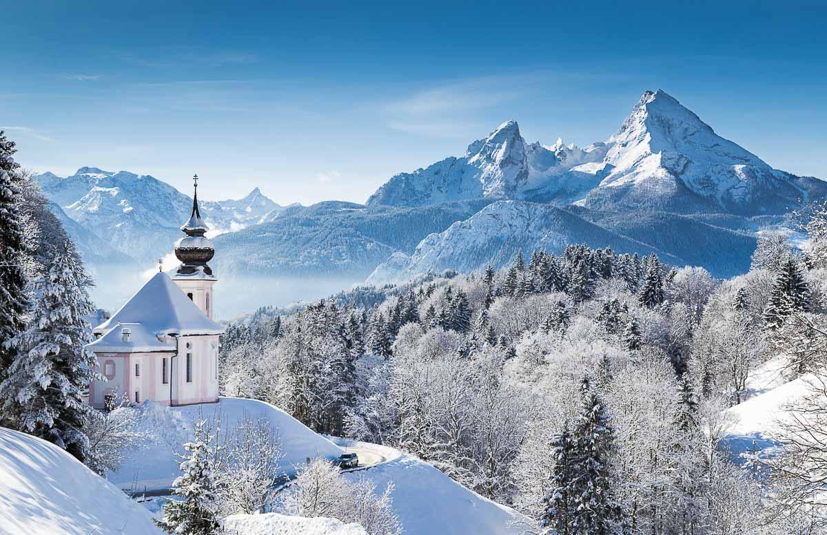 Wallfahrtskirche Maria Gern in Berchtesgaden, Bayern