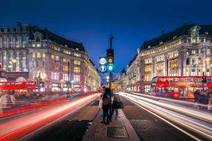 Oxford Street in London