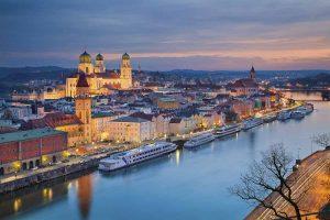 Passau in Bayern