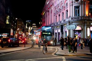 Piccadilly in London