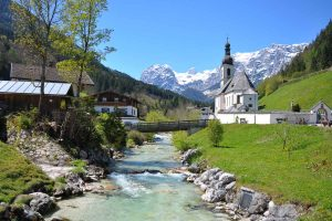 Ramsau bei Berchtesgaden in Bayern