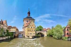 Altes Rathaus in Bamberg, Bayern