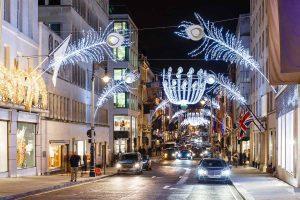 Weihnachten in Mayfair, London