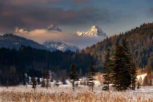 Wetterstein in den bayrischen Alpen