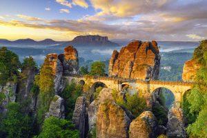 Bastei-Brücke in der Sächsischen Schweiz