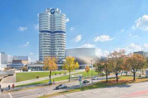 BMW Hauptquartier in München