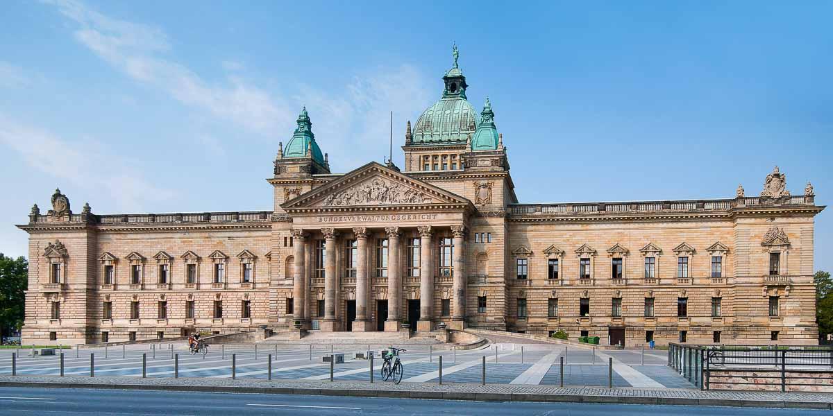 Bundesverwaltungsgericht in Leipzig