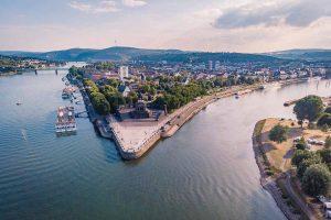 Deutsches Eck bei Koblenz