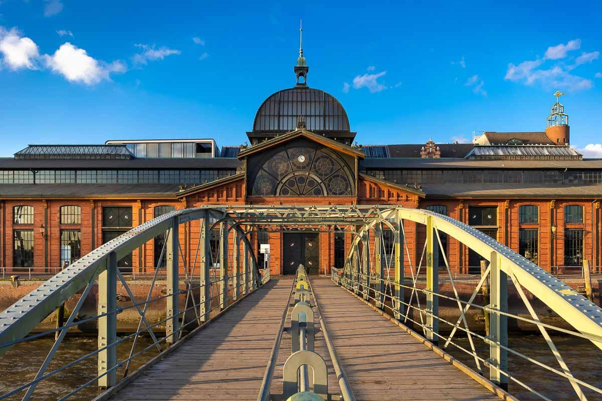 Fischauktionshalle in Hamburg