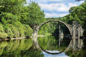 Rakotzbrücke in Kromlau