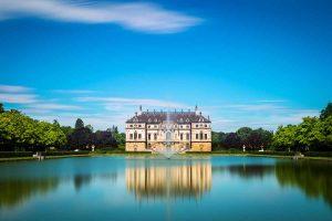 Sommerpalais im Grossen Garten in Dresden