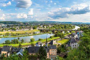 Blick über Trier