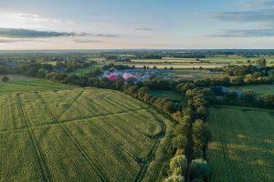 Biogaskraftwerk in Schleswig-Holstein
