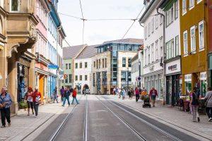 Erfurt - die Hauptstadt von Thüringen