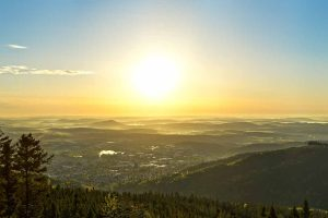 Sonnenaufgang über Ilmenau