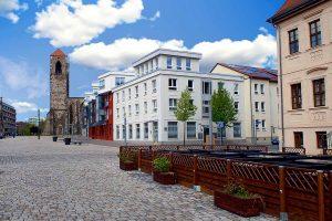 Marktplatz in Zerbst