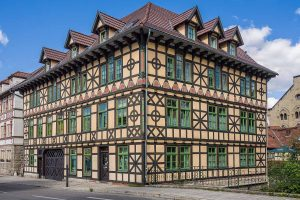 Fachwerkhaus in Meiningen