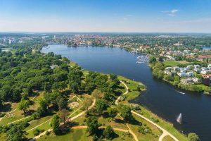 Blick über Potsdam und Umgebung