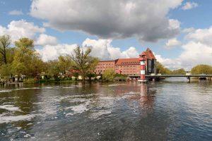 Alte Mühle und Leuchtturm in Rathenow