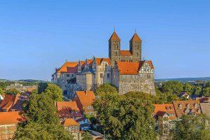 Schloss in Quedlinburg