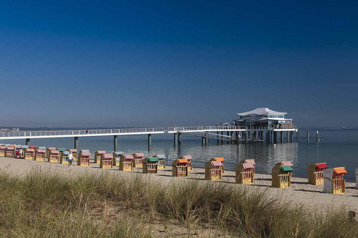 Timmendorfer Strand mit Seelschlößchenbrücke