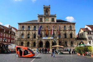 Rathaus in Weimar
