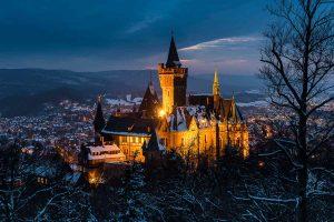 Sachsen-Anhalt: Das Schloss in Wernigerode
