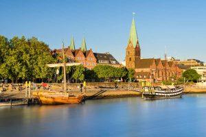 Blick auf die Bremer Altstadt