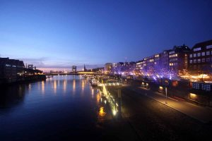 Bremen in der Nacht