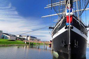"Museumsschiff ""Seute Deern"" in Bremerhaven"