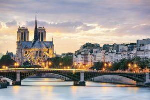Notre Dame in Paris, Frankreich