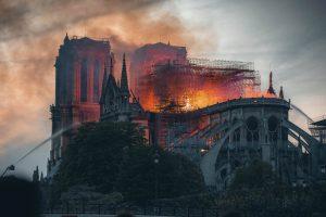 Brand der Notre Dame in Paris